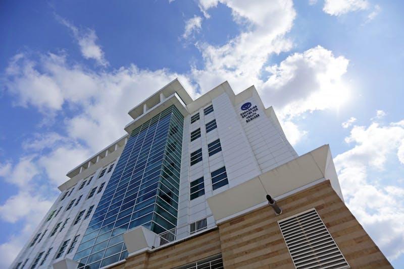 GVL / Emily Frye GVSU Cook-DeVos Center for Health Sciences on Thursday September 14, 2017.