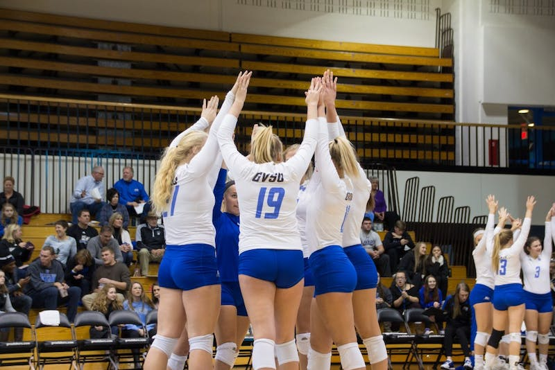 Grand Valley versus Purdue Northwest on Friday, Nov. 10, 2017.  GVL / Archive
