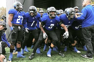 GVL / Emily Frye   GVSU Football during the game against Northern on Saturday October 28, 2017.