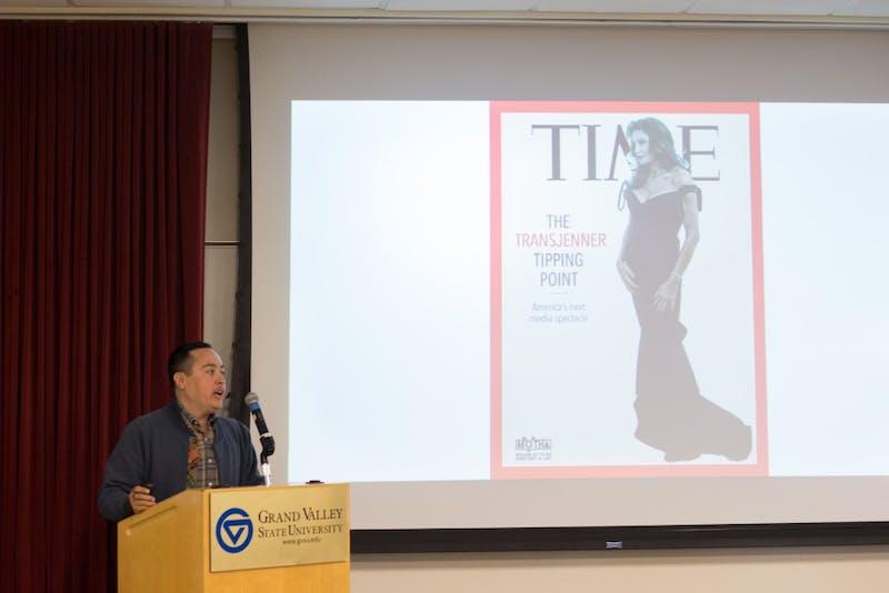 GVL / Dylan McIntyre. Tuesday, March 20, 2018. Transgender Day of Visibility : Keynote Speaker Chris E Vargas.