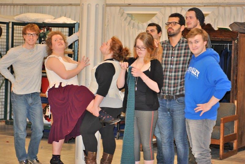 "GVL/Brianna OlsonCast and crew of ""Restoration Comedy"""