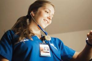 GVL / ArchiveFormer nursing student Meghan Jordan (2014)