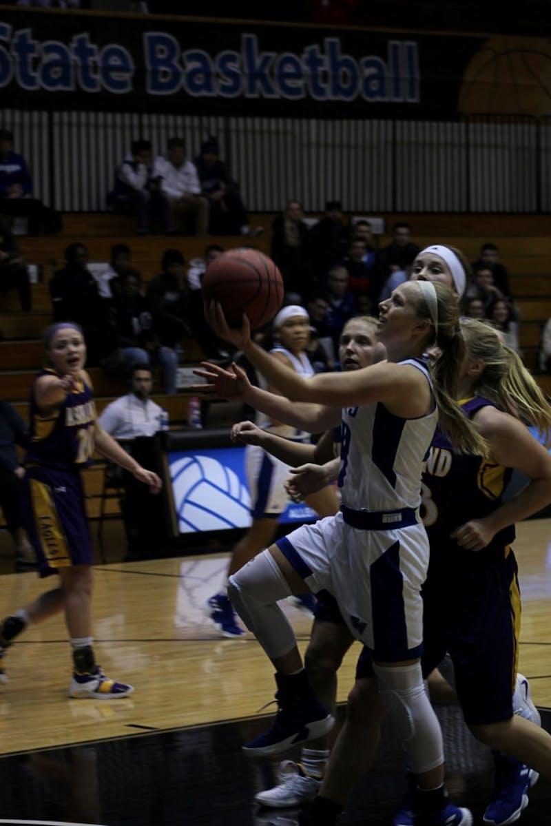Dan Pacheco/GVLWomens Basketball 12-6-18