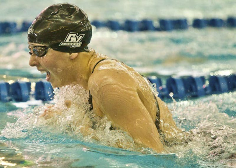 Courtesy Photo / Dean BreestDanielle Vallier swims the Breaststroke.