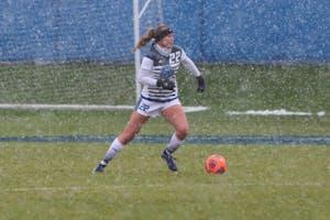 Hailey Wentzloff, GVSU Soccer vs. Rockhurst,11/9/18, GVSU Soccer Feild. GVL/Katherine Vasile