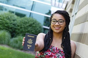 GVL / Courtesy - Kambriana Gates, GVSU student, received a Passport Scholarship and studied abroad in South Africa for the summer of 2017.
