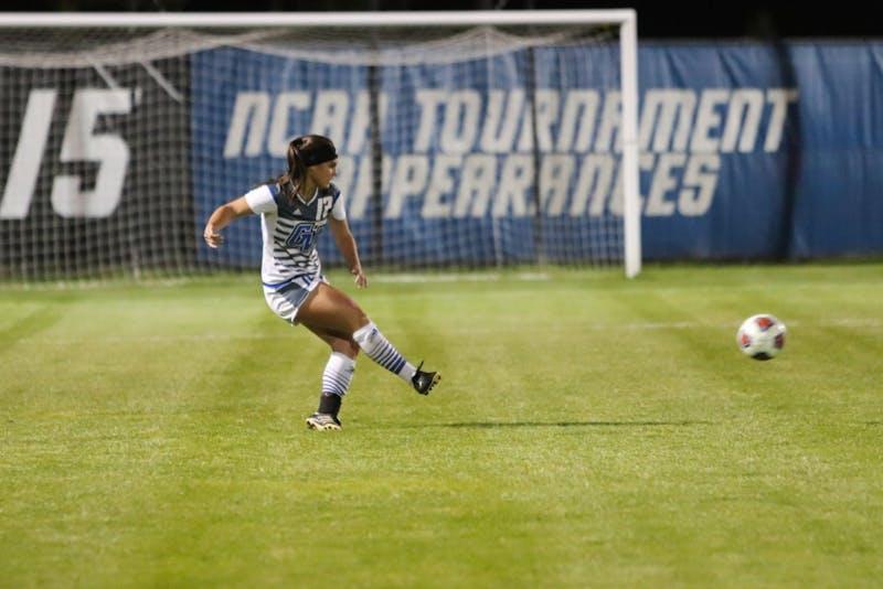 Cecilia Steinwascher, GVSU Soccer vs. Davenport,10/26/18, GVSU Soccer Filed. GVL/Katherine Vasile