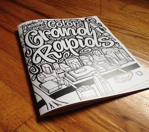 GVL / Courtesy - Travis ClementGrand Rapids coloring book