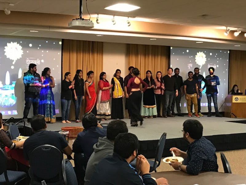 GVL/Samantha Mosley - The Diwali celebration takes place in the Kirkhof Center's Grand River Room on Saturday, Nov. 19, 2016.