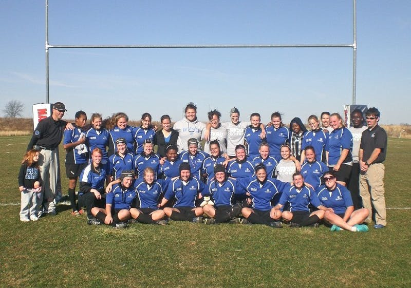 Courtesy Photo / gvsustudentlifesports.comWomens Rugby team