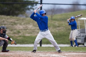 Courtesy / GV Sports Info Junior Baseball player Jesse Abel