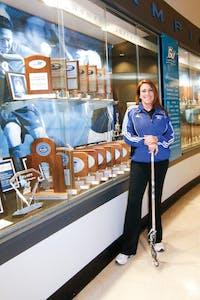 GVL / ArchiveHead Women's Lacrosse Coach Alicia Groveston