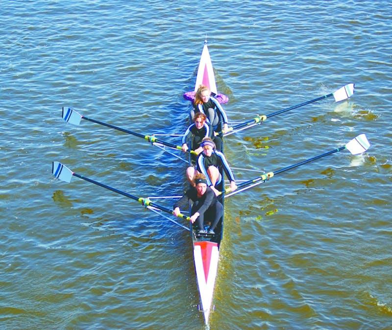 GVSU's varsity men rowers took fourth place overall in the SIRA regatta.