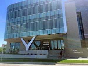 GVL / Kayla Tucker Consumers Energy building on Thursday June 1, 2017.