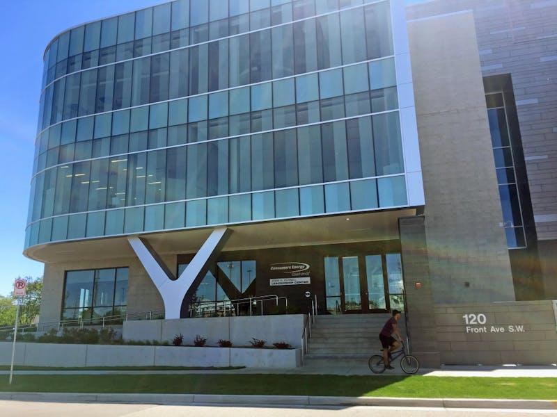 GVL / Kayla TuckerConsumers Energy building on Thursday June 1, 2017.