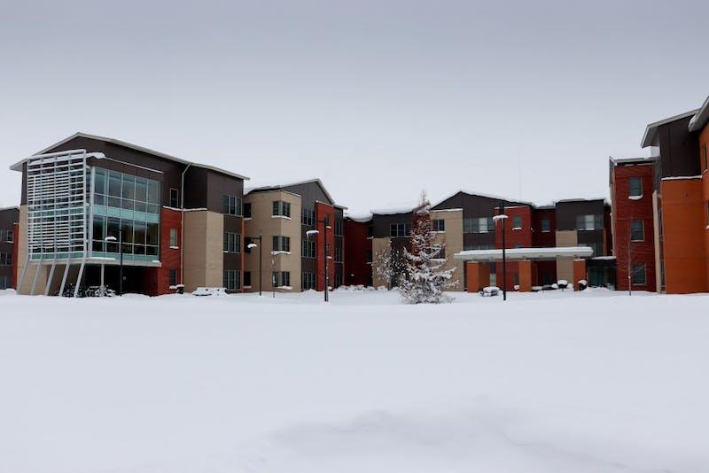 2/2/19, GVSU Allendale Campus, Polar Vortex. GVL / Katherine Vasile