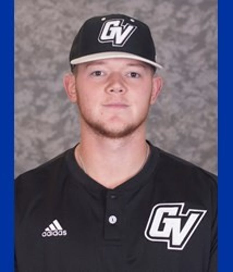 Pitcher Josh D. Smith. Courtesy / GVSU Baseball