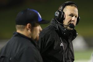 GVL / Robert Mathews Head Coach Matt Mitchell