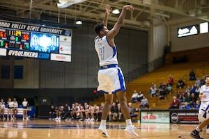 GVL / Matt Read GVSU Basketball takes on Grace for their second home game of the season.