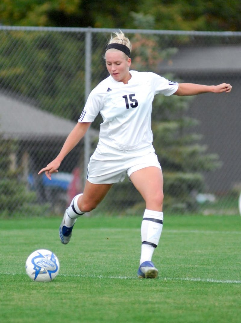 GVL ArchiveDefender Jenna Wenglinski was awarded NCAA DII Player of the Year