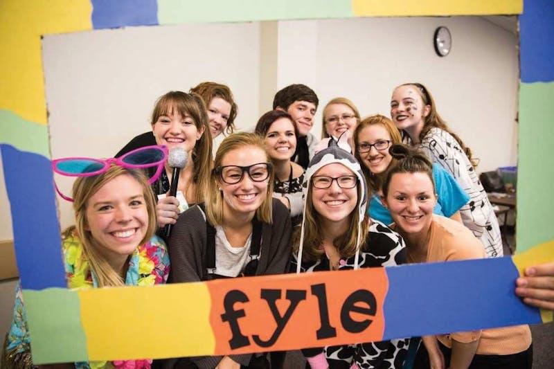 GVL / Courtesy - Laker Leadership ProgramsFirst Year Leadership Experience courtesy from Monday, Feb. 6, 2016.
