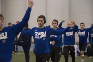 GVL / Luke Holmes - The GVSU Lints Alumni Meet was held in the Kelly Family Sports Center on Saturday, Jan. 29, 2016.