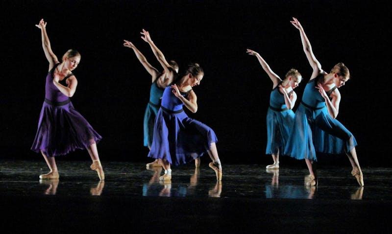 GVL / Emily Frye  Dance Festival Rehearsal