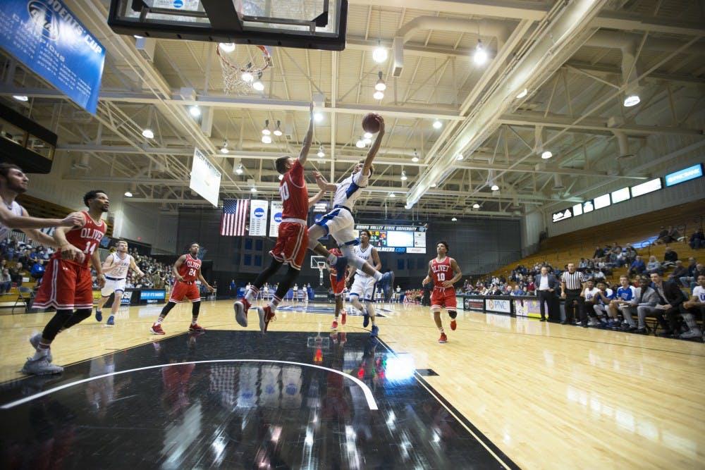 Grand Valley Lanthorn | GVSU men's basketball dominates in ...