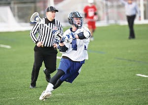 GVL/Kevin Sielaff - Archive image of defender Joey Seiler, pictured during the game against Saginaw Valley on Friday, Mar. 13, 2015.