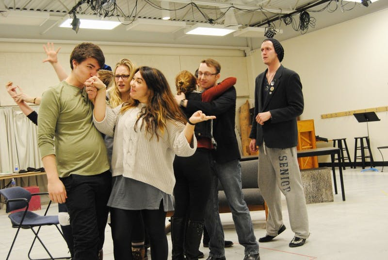 GVL/Brianna Olson    The Cast and Crew of Company