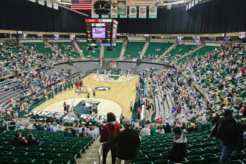 The Breslin proved to be an empty atmosphere, with few GV fans scattered around on Sunday's game against the Spartans