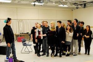 The Cast and Crew of Company. GVL/Brianna Olson