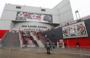 GVL / Courtesy - (AP Photo/Paul Sancya, File) The Joe Louis Arena, as pictured on Monday, Jan. 16, 2017.