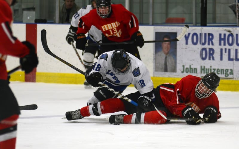 GVL / Kevin Sielaff#18: Sophomore forward Tyler Stoller
