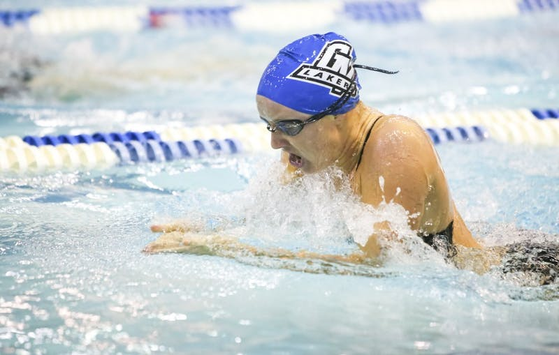 GVL/Bo AndersonElle Ryan competes against Indianapolis on Saturday