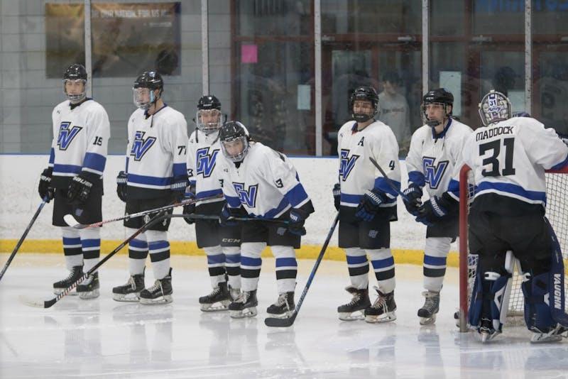 1-11-19, Georgetown Ice Center, GVSU Men's Hockey vs Aquinas College. GVL