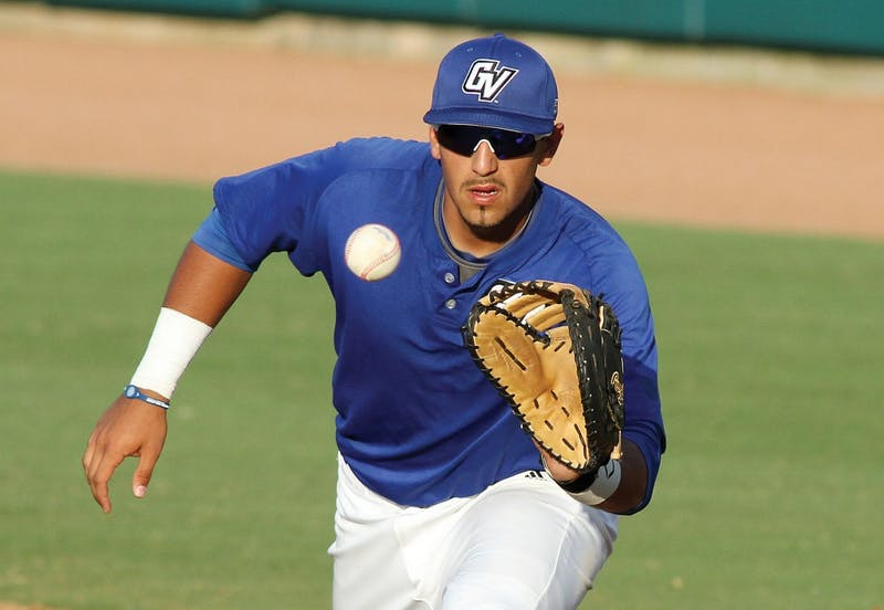 GVL / ArchiveSenior first baseman Giancarlo Brugnoni