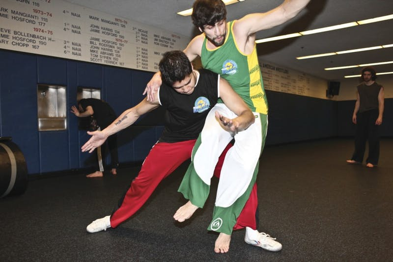 The Afro-Brazilian martial art of Capoeira Mandinga is a combination of dance and fighting.