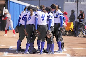 GVL / Emily Frye Bittersweet: Despite their season ending earlier than expected, the 2018 Grand Valley State softball squad had quite the season.