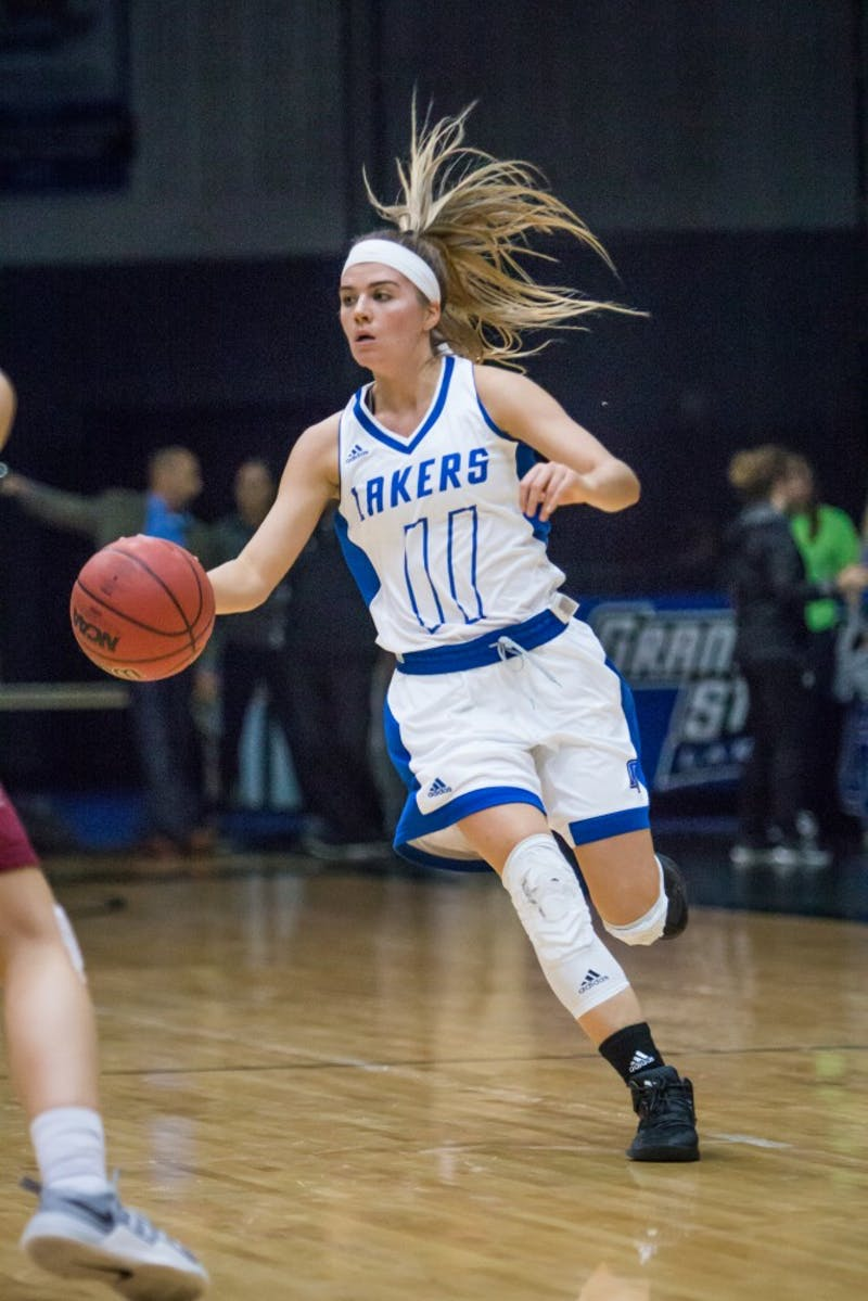 GVL / Spencer Scarber Laker Women's basketball defeated Indianapolis 77-57 on November 18, 2017