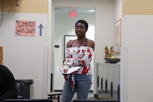 Conversations of Color, September 19th 2018, in the office of Multicultural Affairs. GVL / Katherine Vasile