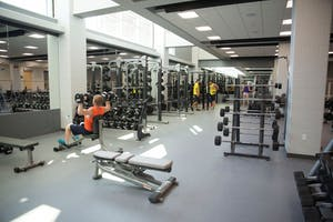 GVL / Luke Holmes - The first phase of the new recreation center is officially finished.