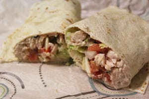 GVL / Dan Goubert Chicken pepper jack wrap