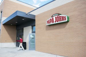 Papa John's in the Connection.  GVL / Andrew Nyhof