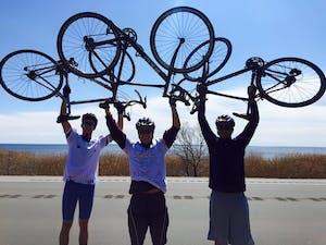 GVL / Courtesy - Samuel Nathan Alpha Sigma Phi bike trip