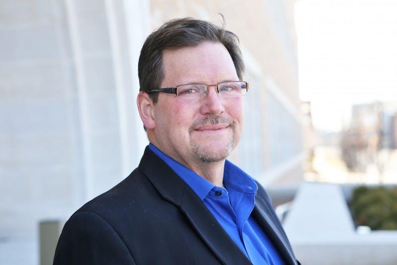 GVL/Kevin SielaffProfessor Keith Brophy