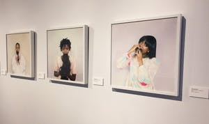 GVL/Kate Branum - UICA exhibitions; Here + Now, as seen on Thursday, Feb. 2, 2017.