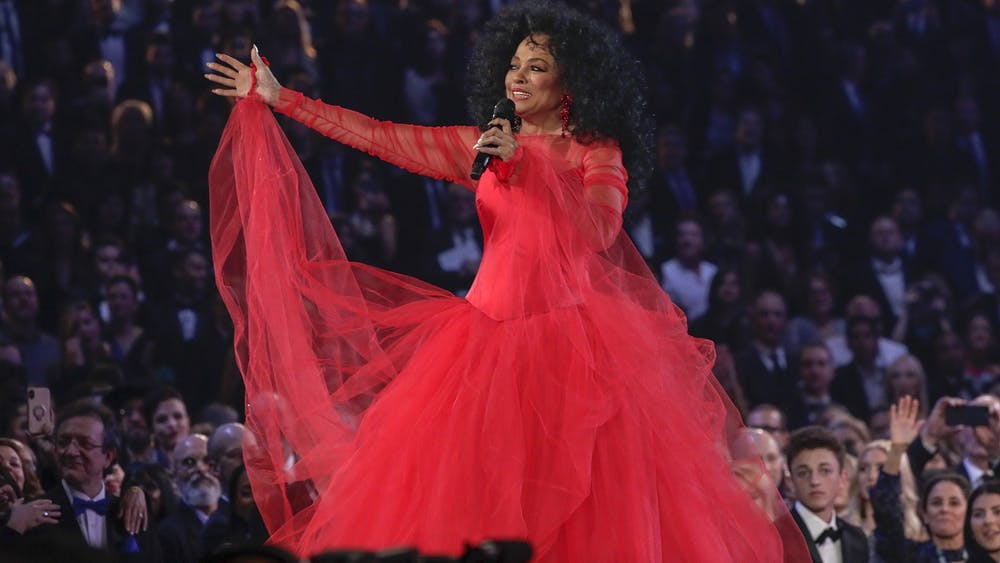 Diana Ross performs during the 61st Grammy Awards Feb. 10, 2019, at Staples Center in Los Angeles.