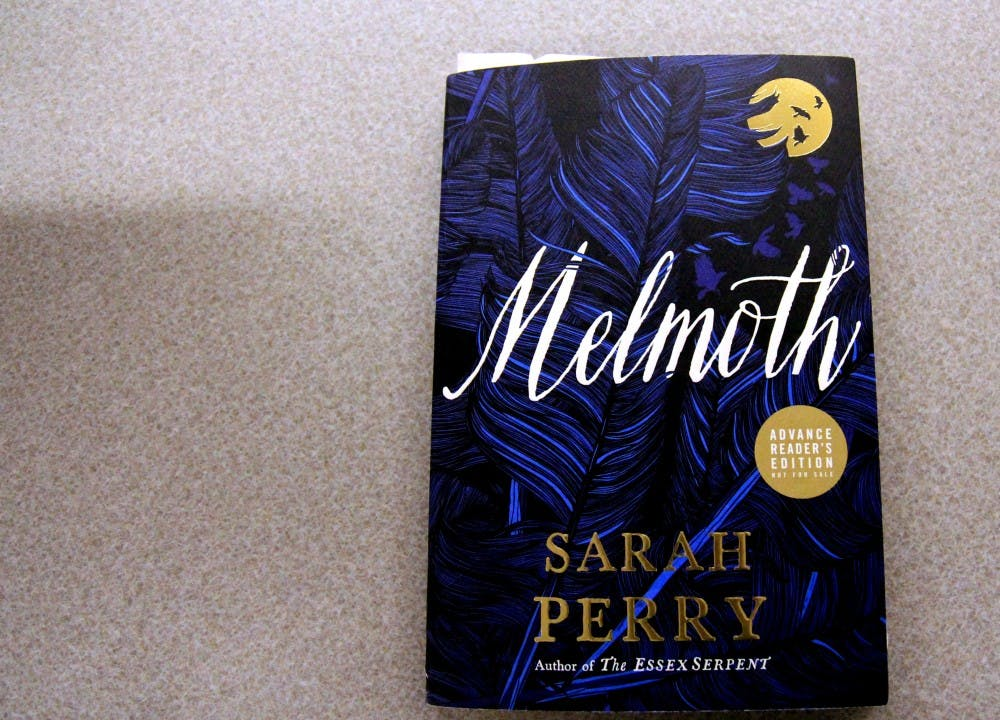 """""""Melmoth"""" is a gothic fiction novel by Sarah Perry."""