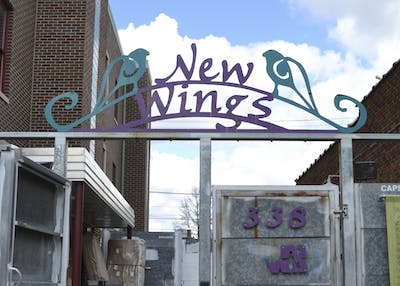 New Wings on South Washington Street is Middle Way House's emergency shelter for assault victims.
